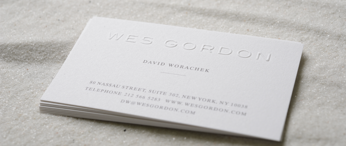 embossed business cards - Business Card Paper