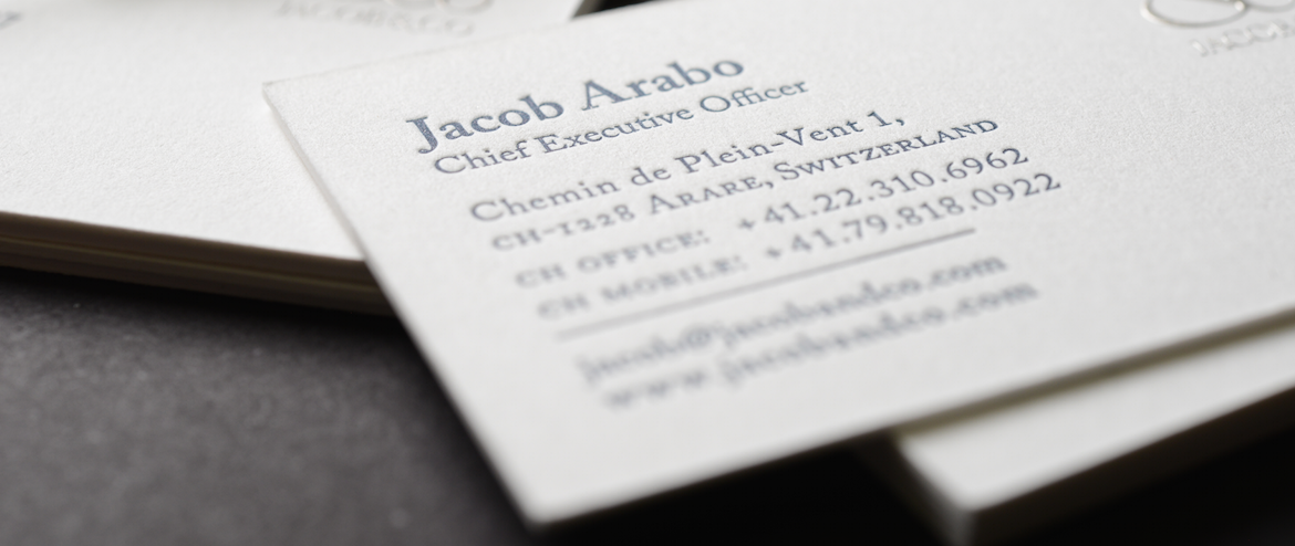 Letterpress Business Cards | Business Cards Premium