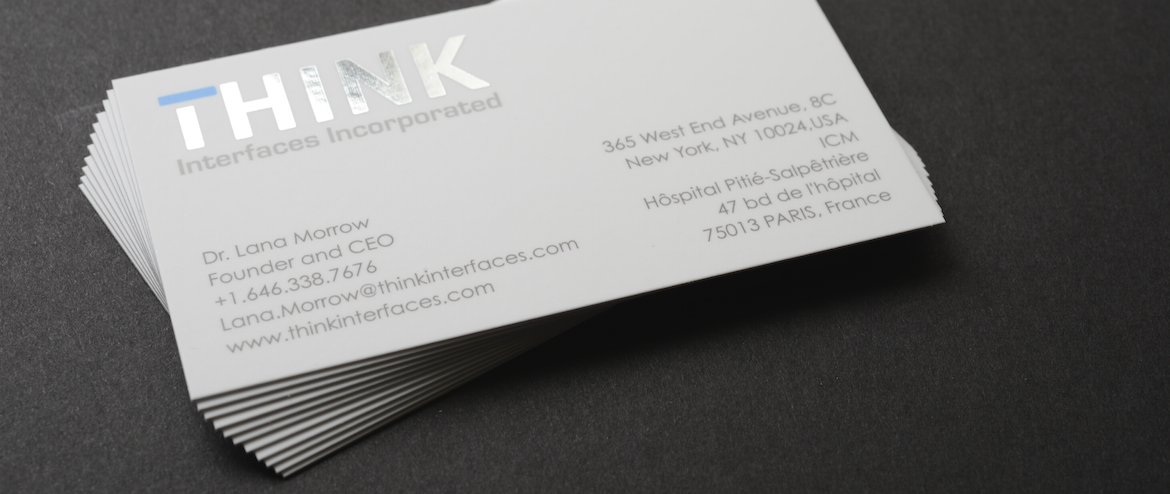 Foil Business Cards | Gold Foil Business Cards