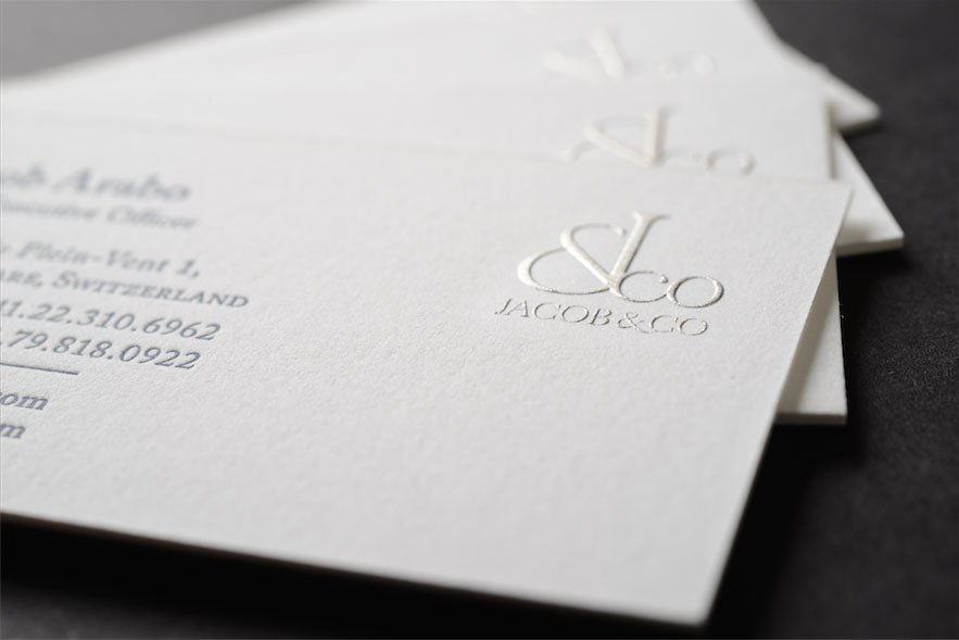Custom business cards best business cards nyc letterpress raised ink business cards reheart