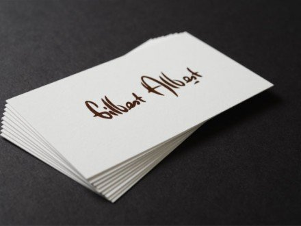 raised ink best business cards