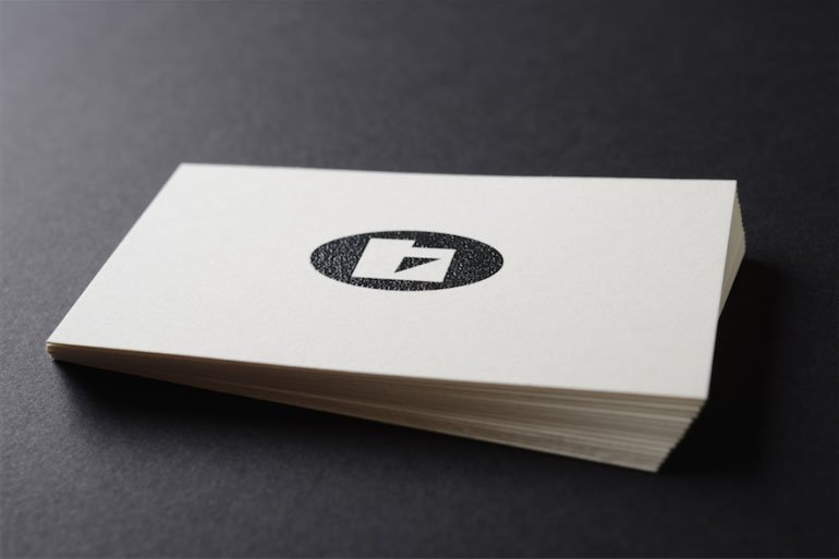 raised ink custom business cards