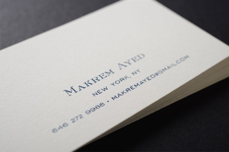 Business cards new york ny image collections card design and card see our premium line for high quality same day business cards in nyc raised ink nyc reheart Images