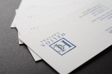 raised ink premium business cards