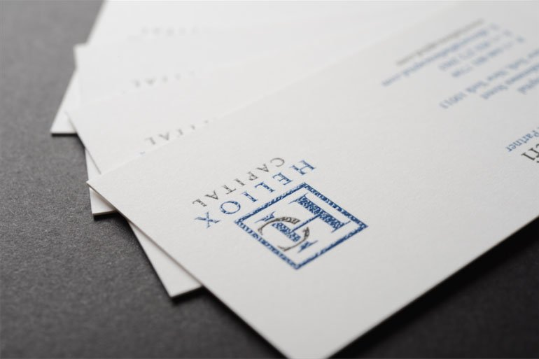 raised ink premium business cards