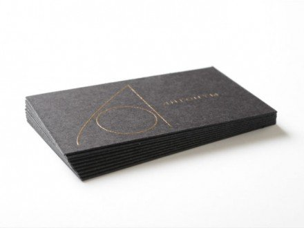 thick raised ink business cards