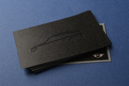 business card paper types