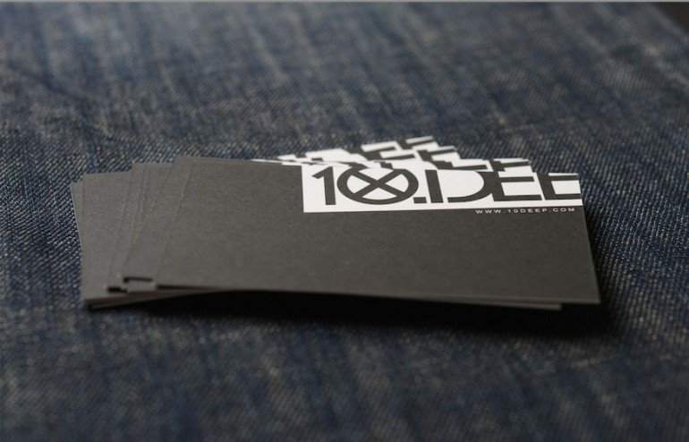 thick unique business cards
