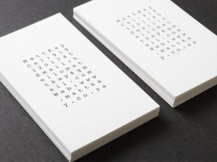 vertical business cards - Japanese Business Card