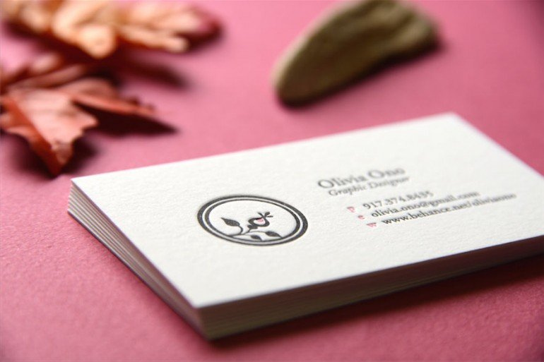 nyc letterpress business cards