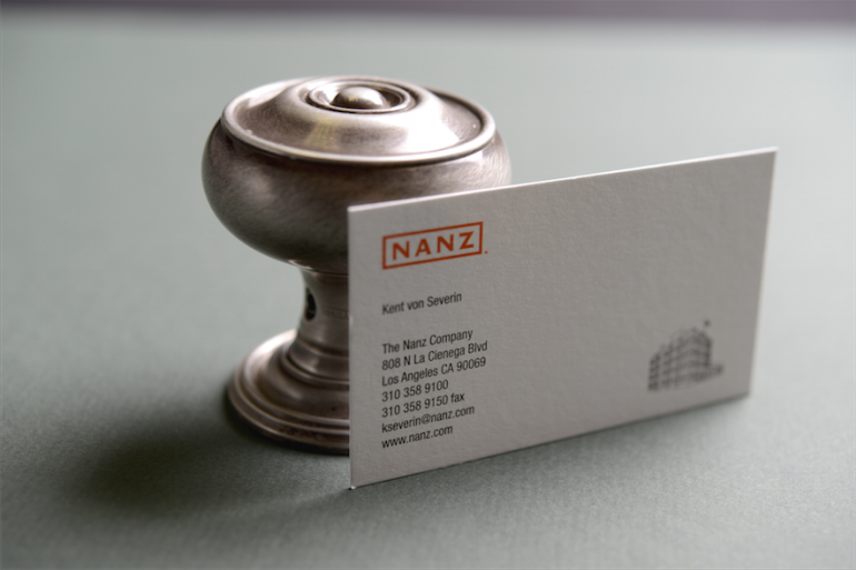 Business Cards Strathmore Finish