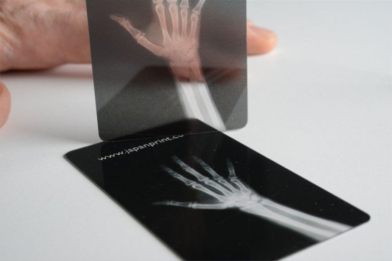 clear plastic business cards nyc