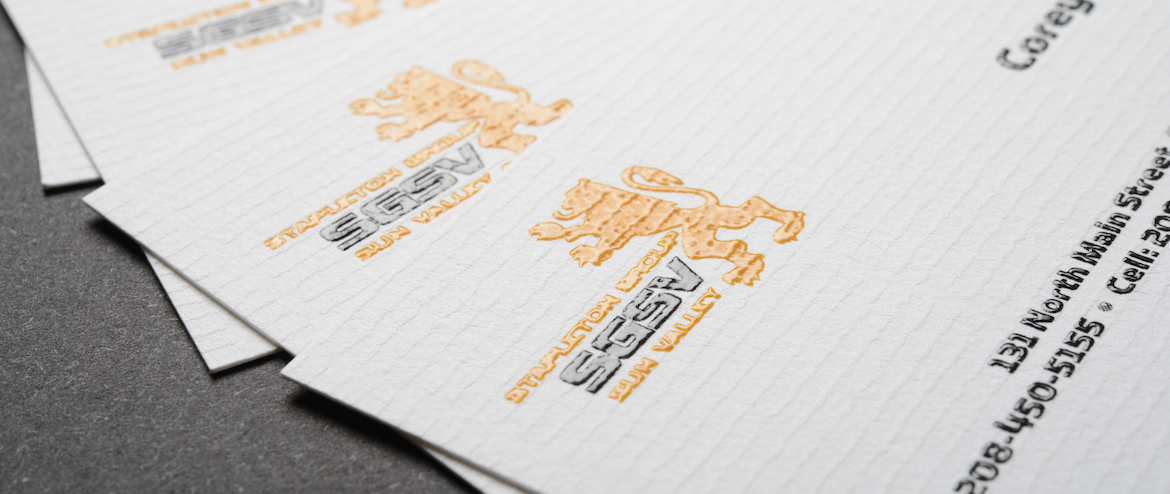 Raised Ink Business Cards | Cool Business Cards Designs