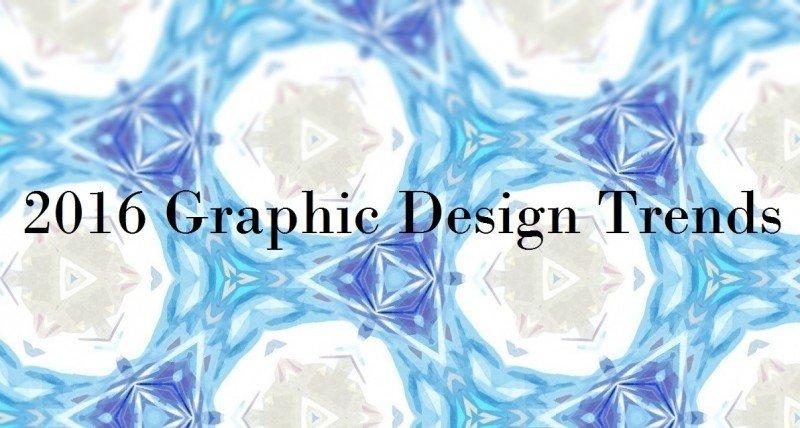 2016 Graphic Design Trends