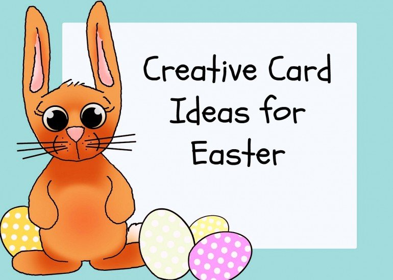 creative easter card ideas