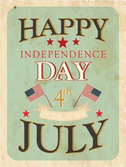 Free 4th of July Fonts and Designs