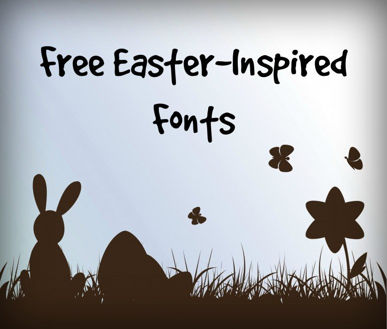 Free easter inspired fonts creative business cards nyc free easter inspired fonts m4hsunfo