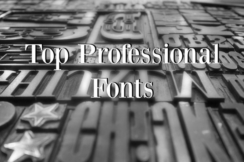 top professional fonts business card design services - Best Font For Business Cards