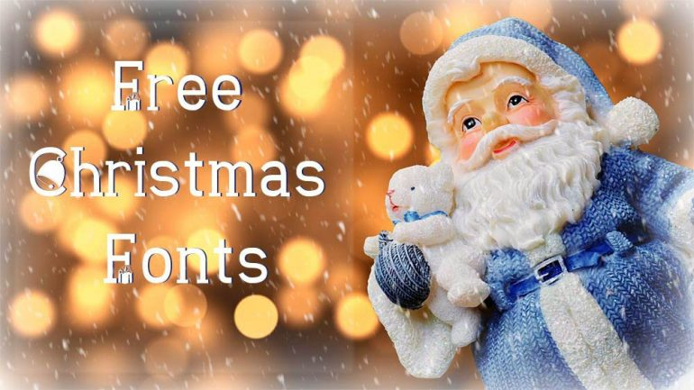 Free Christmas Fonts High Quality Business