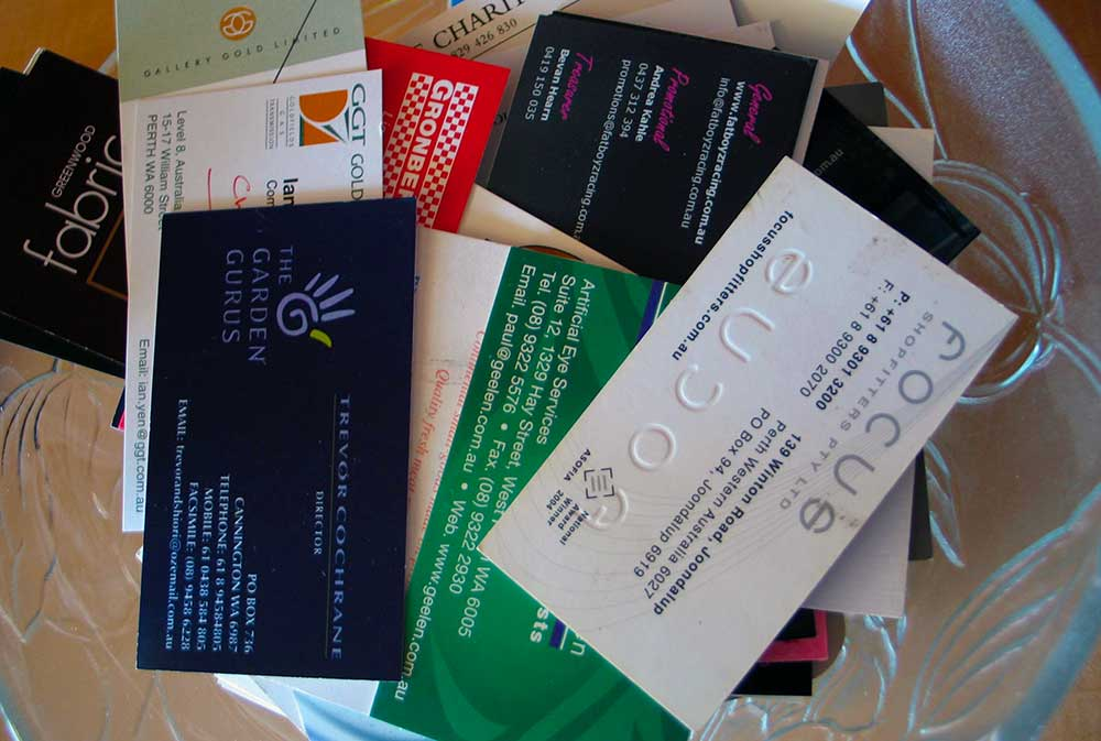 Business Card Distribution Tips