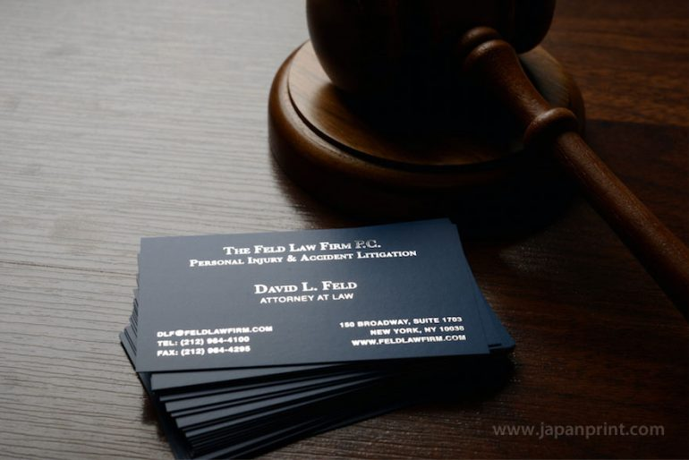 Types of print finishes high quality business cards nyc printing 101 types of print finishes reheart Choice Image