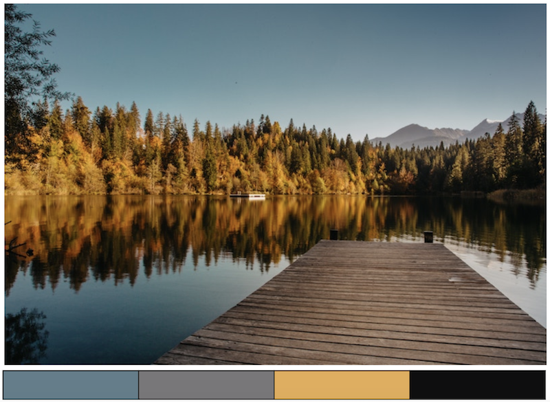 autumn color scheme inspiration