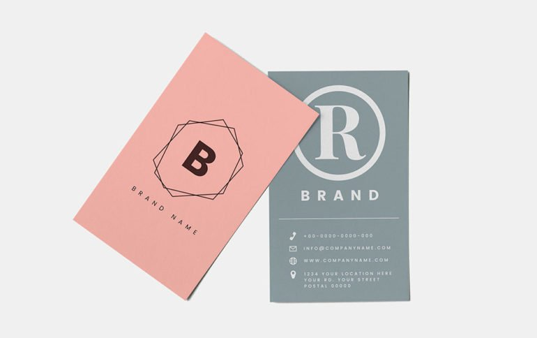 Spring Business Card Trends
