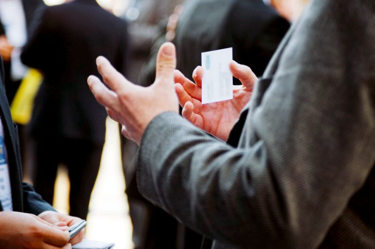 Business Card Etiquette Tips