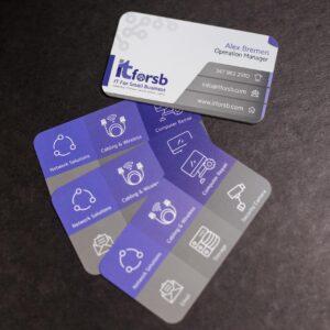 Custom business cards NYC
