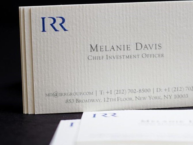 Laid Business Cards NYC