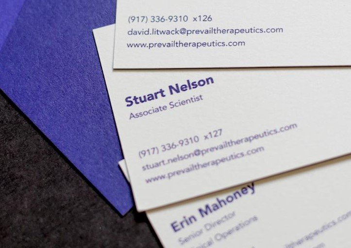 Mohawk Business Cards NYC
