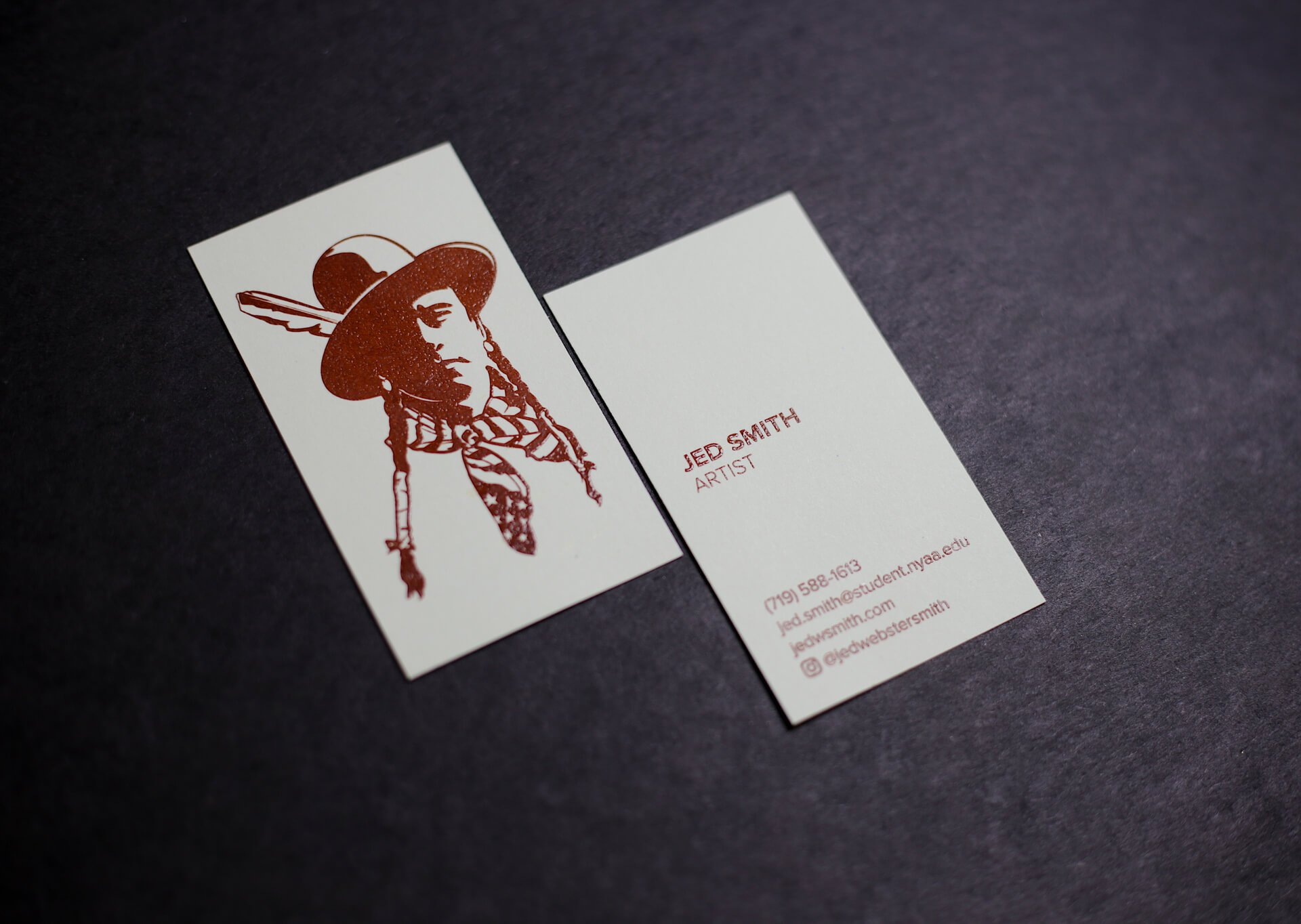 Raised Ink Business Cards NYC